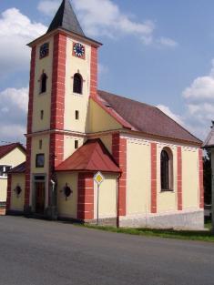 Kostel sv.Václava vÚjezdě