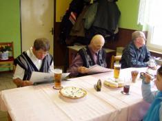 Setkání s důchodci