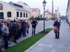 Připomenutí Koziny starostou obce