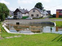 Spodní rybník porekonstrukci